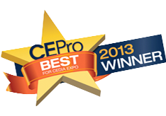 CEPro Best 2013 Winner