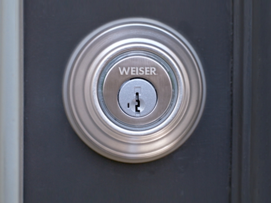 Serrure intelligente Kevo Weiser: un pêne dormant électronique ...