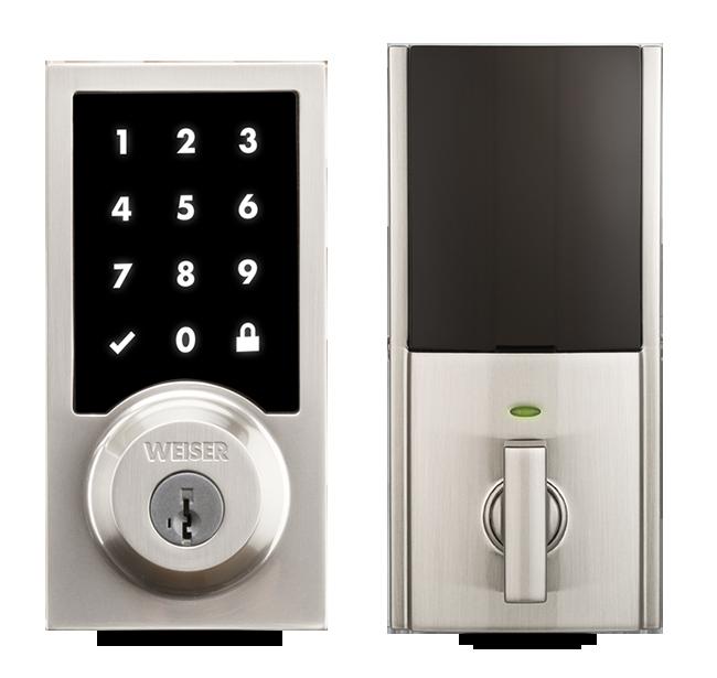 Premis Touchscreen Door Lock - Apple Homekit Smart Locks | Weiser
