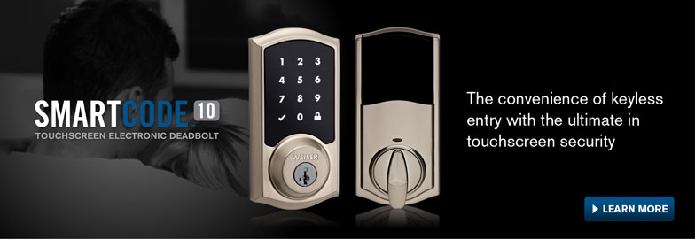 The convenience of keyless entry with the ultimate in touchscreen security