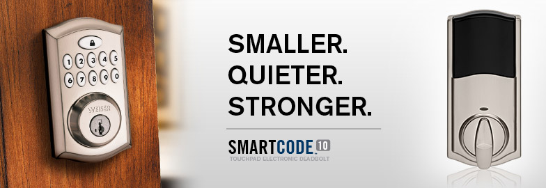 SmartCode10 - Smaller. Quieter. Stronger