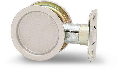 Passage - Round pocket door lock
