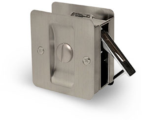 Privacy - Square pocket door lock