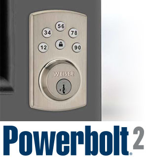 Powerbolt2 on Door