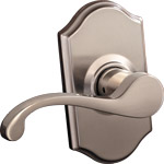 Designer Rose  - Satin Nickel
