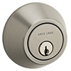 Safelock_Deadbolt  - Nickel Satin