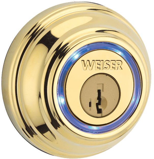 Polished Brass Kevo