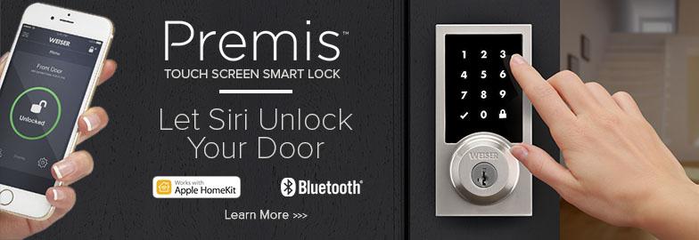 Weiser Premis Touchscreen Smart Lock Compatible with Apple HomeKit